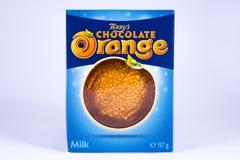 De Sinaasappel van de Terryschocolade Royalty-vrije Stock Fotografie