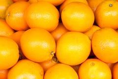 De Sinaasappelen van de navel Stock Foto's