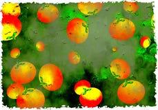 De sinaasappelen van Grunge Royalty-vrije Stock Foto