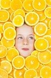 De Sinaasappelen van Yum Stock Fotografie