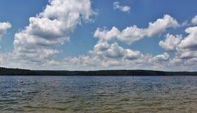 De Siwiejący Jezioro Obraz Royalty Free