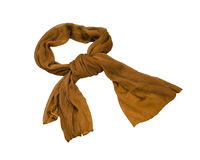 De sjaal van de zijde Stock Afbeeldingen