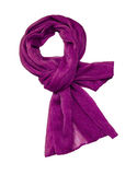 De sjaal van de zijde Stock Foto