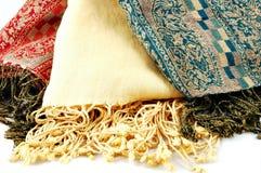De Sjaals van Pashmina Stock Foto