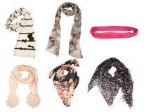 De sjaals van vrouwen stock afbeelding