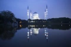 Blauwe moskee Stock Afbeelding