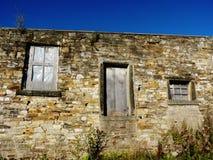 De sjofele schuur de landbouw bouw rustieke baksteen Royalty-vrije Stock Foto