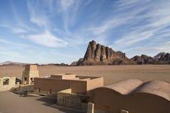 De sju pelarna av vishet, Wadi Rum Royaltyfri Foto