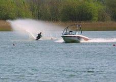 De skiër van het water Stock Foto's