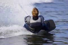 De skiër van het water Stock Afbeeldingen