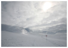 2 de ski Photos libres de droits