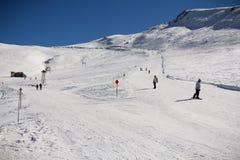 De skihelling van Roemenië Stock Foto