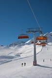 De skilift van de stoel Royalty-vrije Stock Afbeeldingen