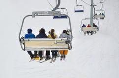De skilift van de stoel Royalty-vrije Stock Foto's