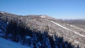De skitoevlucht van het massief Royalty-vrije Stock Foto's