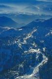 De skitoevlucht van Vogel royalty-vrije stock fotografie