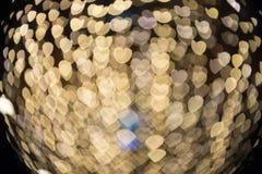 De skupiający się/Zamazywał wizerunek światła Zamazuje światła Lekki bokeh Obraz Royalty Free