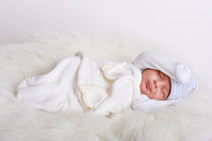 De slaap van de baby Royalty-vrije Stock Foto
