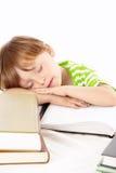 De slaap van de jongen Royalty-vrije Stock Foto