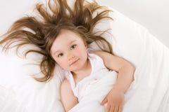 De slaap van het meisje Royalty-vrije Stock Afbeeldingen