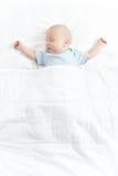 De slaapbaby Royalty-vrije Stock Afbeeldingen