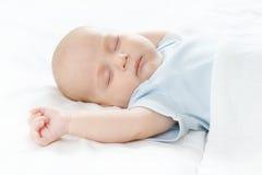 De slaapbaby Stock Foto