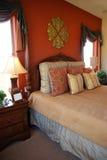 De Slaapkamer van de luxe stock foto