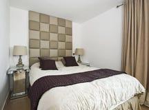 De slaapkamer van de ontwerper stock foto