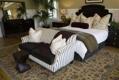 De slaapkamer van de ontwerper Stock Afbeeldingen