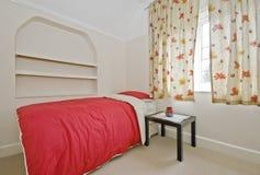 De slaapkamer van Edwardian Stock Foto