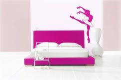 De slaapkamer van het ballet Stock Foto's