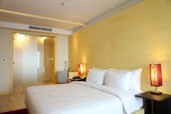 De slaapkamer van het boutiquehotel Royalty-vrije Stock Foto