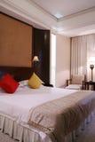 De slaapkamer van het hotel Royalty-vrije Stock Foto