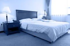 De slaapkamer van het hotel Royalty-vrije Stock Fotografie