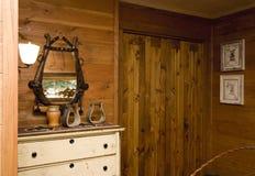 De slaapkamer van het land Royalty-vrije Stock Foto