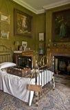 De Slaapkamer van het Lanhydrockhuis Royalty-vrije Stock Afbeeldingen