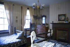 De slaapkamer van het mackenziehuis Stock Fotografie