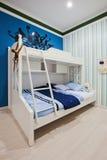 De slaapkamer van kinderen   stock afbeeldingen