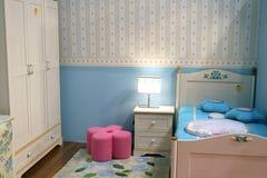 De slaapkamer van kinderen Stock Fotografie