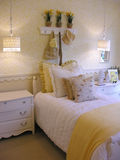 De Slaapkamer van meisjes Royalty-vrije Stock Afbeelding