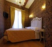De slaapkamer van rococo's Royalty-vrije Stock Fotografie