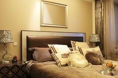 De slaapkamer van werkende families royalty-vrije stock foto