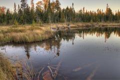 De slaapreus is een groot Provinciaal Park op het Meer Superieure noorden van Donderbaai in Ontario royalty-vrije stock afbeeldingen