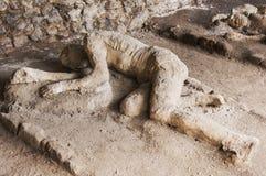 De slachtoffers van Pompei Royalty-vrije Stock Fotografie