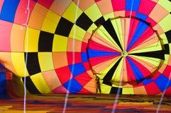 De slag van de ballon - omhoog Stock Afbeeldingen