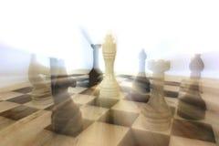 De slag van het schaak stock foto