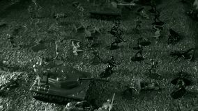 De slag van Wereldoorlog II, de Russen die de Duitsers, de aanval bestrijden van Russische militairen en tanks tegen de Duitse tr stock afbeeldingen