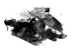 De Slagen van de borstel Stock Afbeeldingen