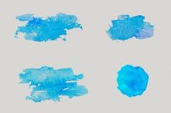 De slagen van de wolkenwaterverf Royalty-vrije Stock Afbeelding
