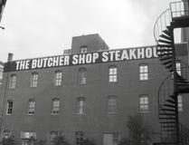 De Slager Shop Steakhouse - Dallas, TX stock foto's